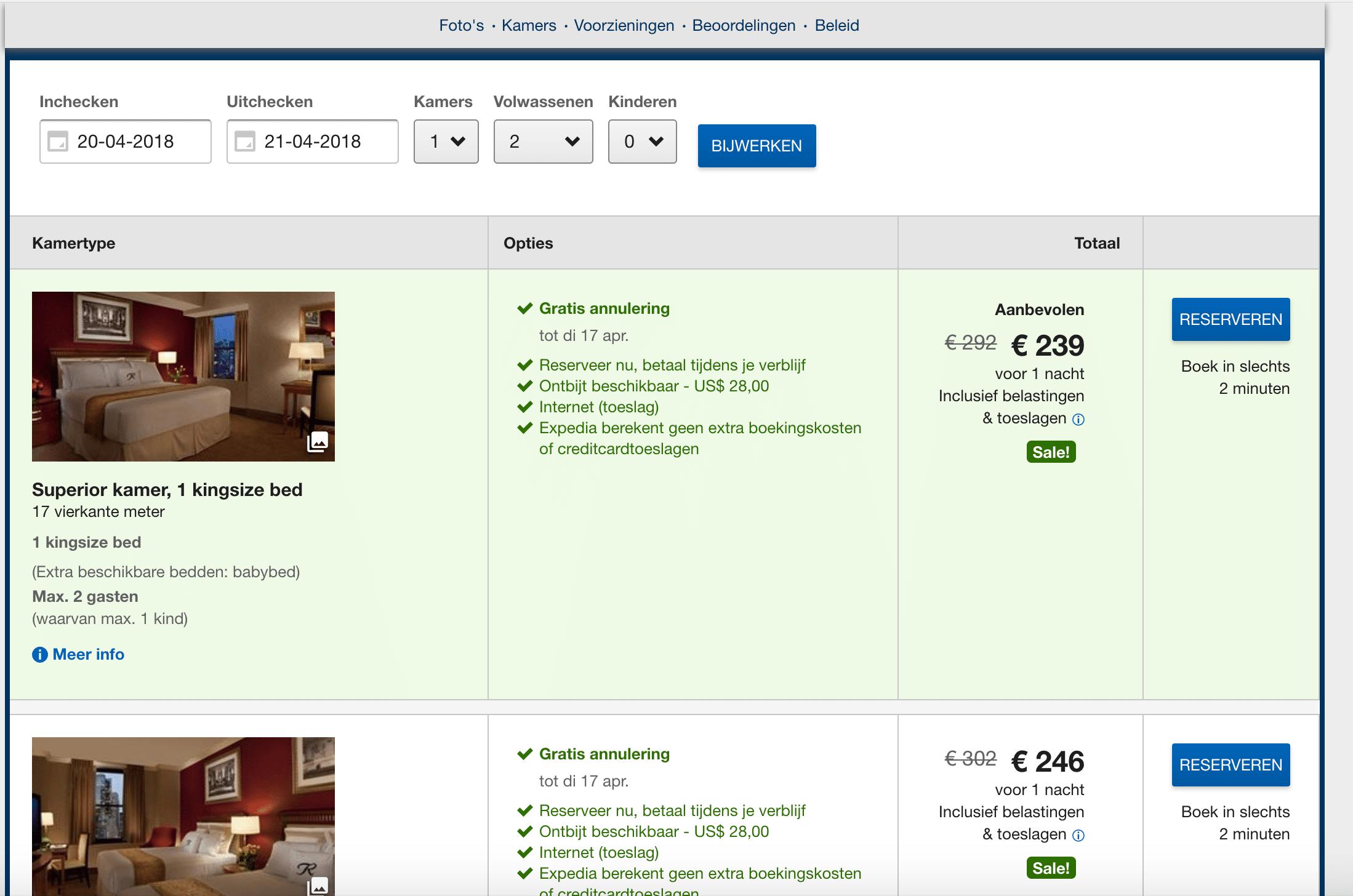 hotel boeken - Expedia